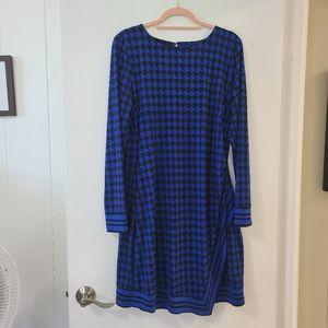 Michael Kors blue/black dress XL